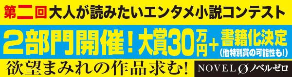 NOVEL 0「第二回大人が読みたいエンタメ小説コンテスト」